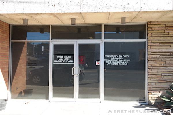 Polk County Tax Office Livingston