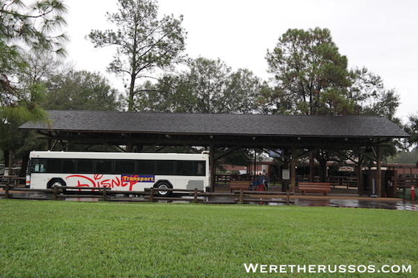 Disney's Fort Wilderness Transportation Depot