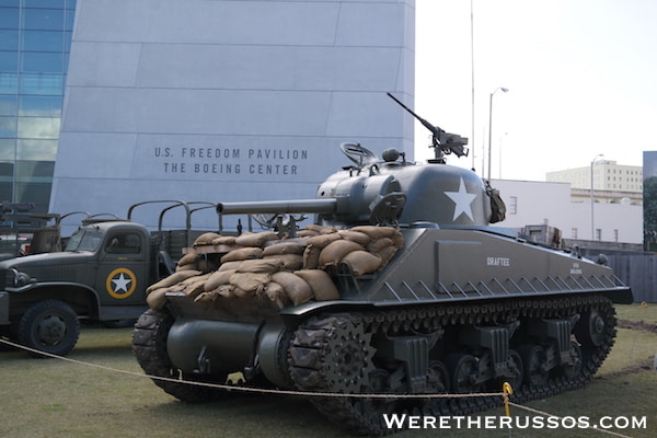 National WWII Museum - Freedom Pavilion