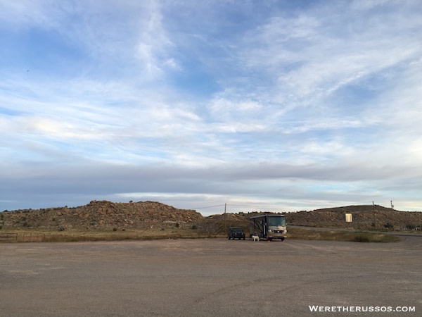 Four Corners Monument and RV Camping - Teec Nos Pos Trading Post Harvest Hosts