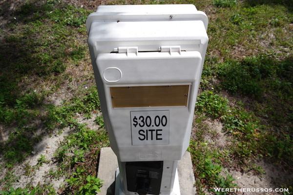 Flamingo Campground Everglades campsite fee