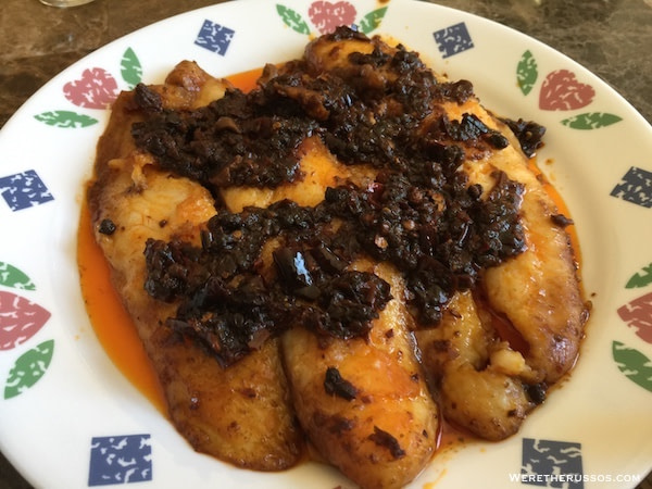 Chinese spicy fish