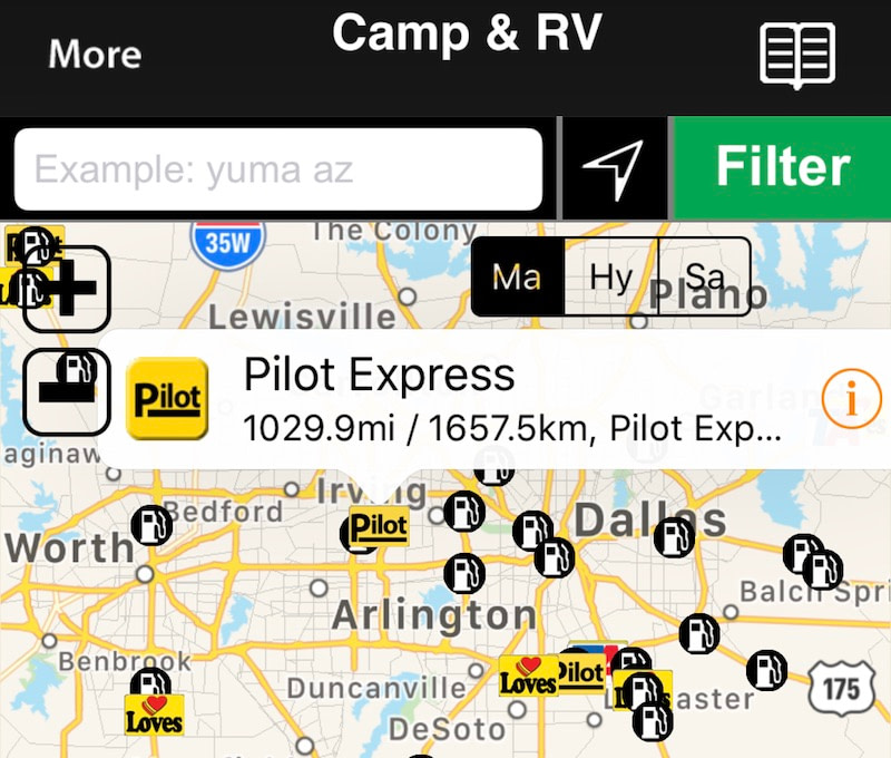 How to Find Truck Stops