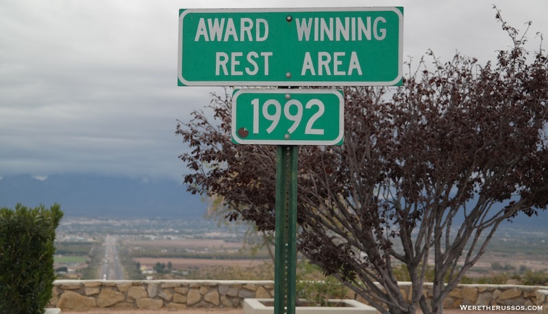 Las Cruces NM Rest Area