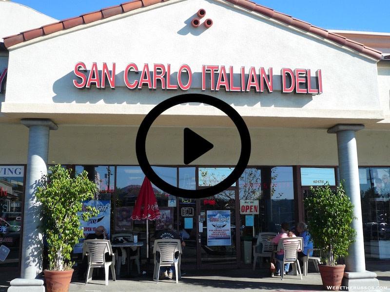 San Carlo Italian Deli chatsworth