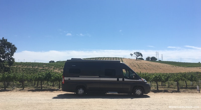 Camping on farms and wineries with Harvest Hosts
