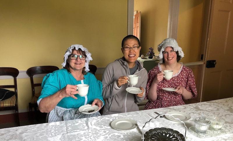 Sherrif Andrews House tea