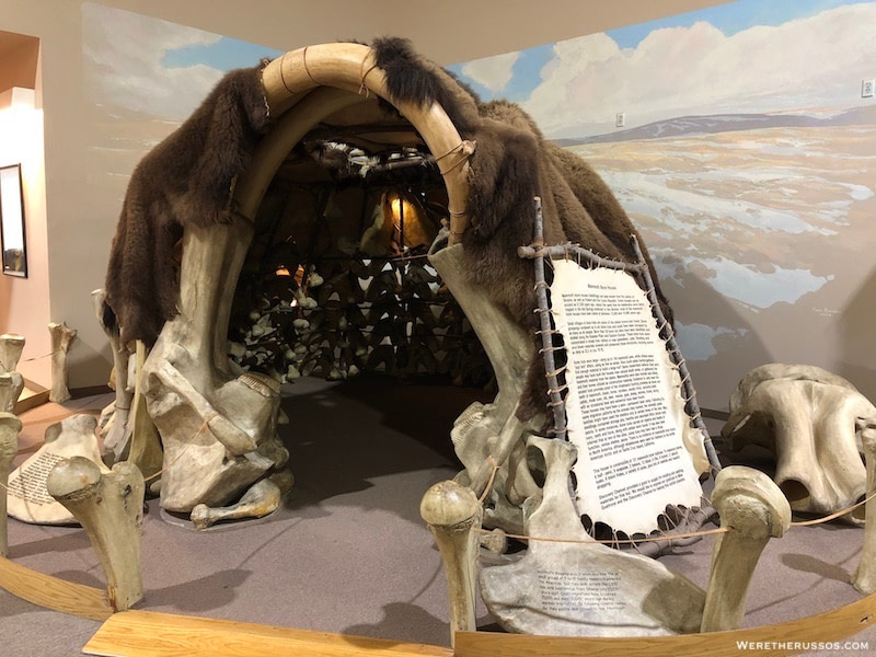 Mammoth Bone House - The Mammoth Site