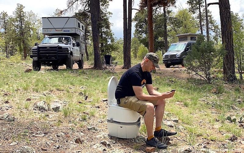 Camper Portable Toilet