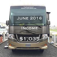 June 2016 Income