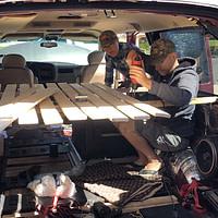 DIY Camper Van Build