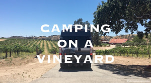 Vineyard camping paso robles