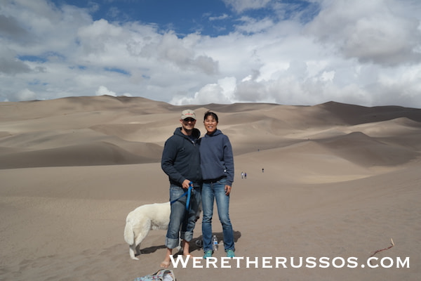 Great Sand Dunes National Park Joe and Kait