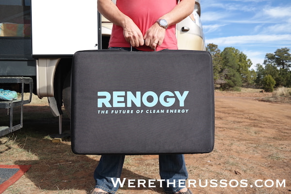 Renogy Portable Solar Panel - case