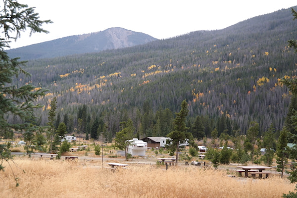 Rocky Mountain National Park - Campground