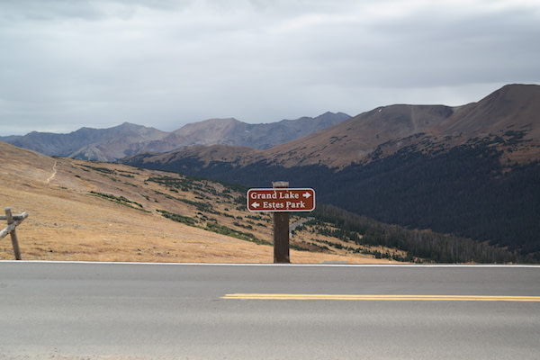 Rocky Mountain National Park - Sign 2