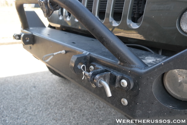 How to Flat Tow a Jeep Wrangler - Bumper