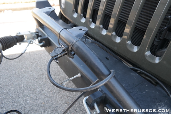 How to Flat Tow a Jeep Wrangler - Wiring