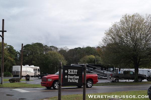 Disney's Fort Wilderness Overflow Parking