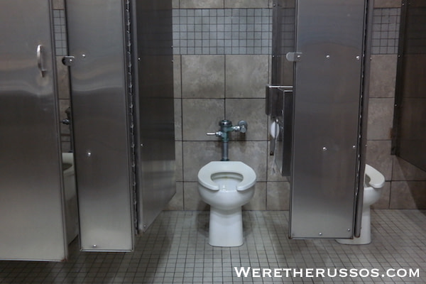 Bayou Segnette State Park toilet