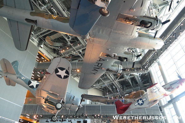 National WWII Museum - Planes