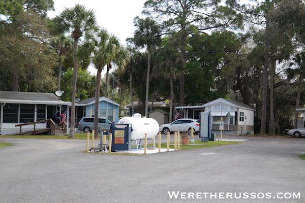 Space Coast RV Resort propane