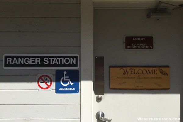 John Pennekamp State Park Ranger Station