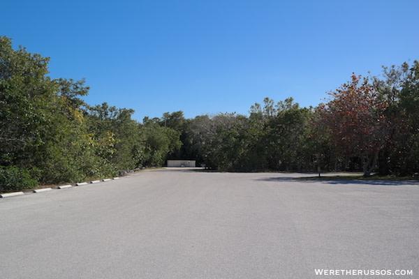 John Pennekamp State Park campsite entrance 3