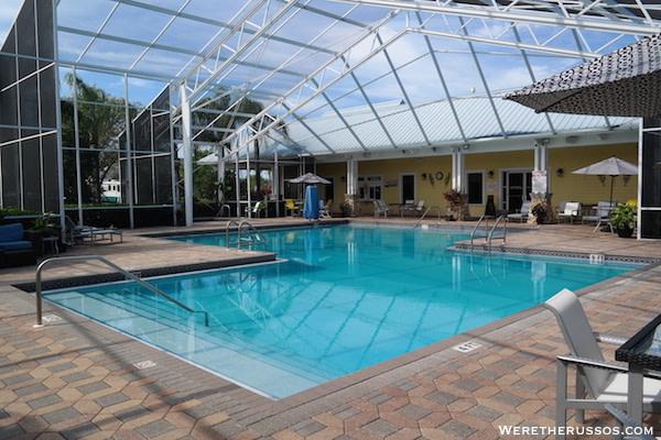 Lazy Days RV Resort pool