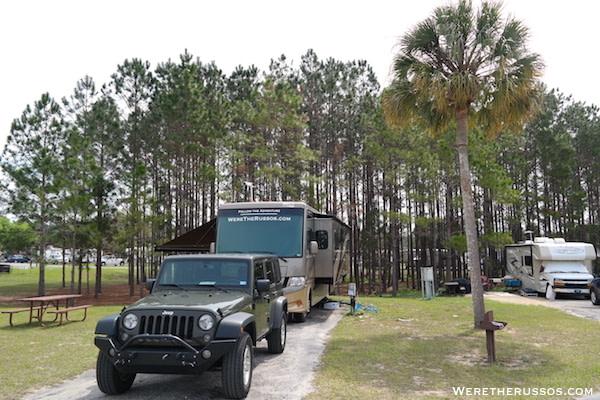 Thousand Trails Orlando site C-15