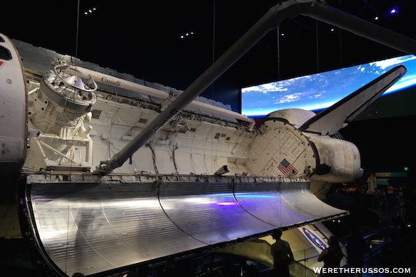 Kennedy Space Center Atlantis side