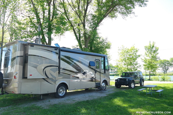 D&W Lake Camping RV Park Champaign 2