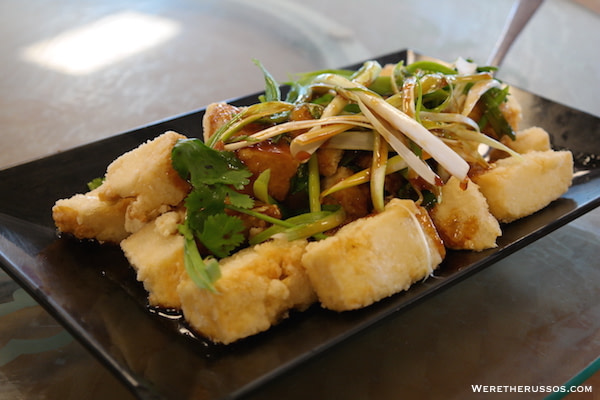 Golden Harbor Crispy Tofu
