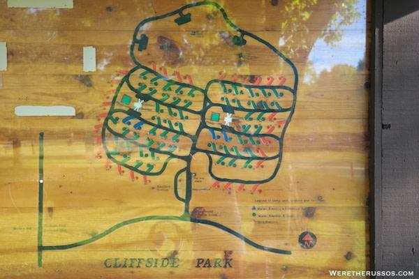 Cliffside Park Racine map