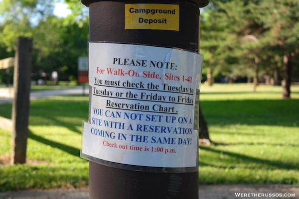 Cliffside Park Racine walk on sites