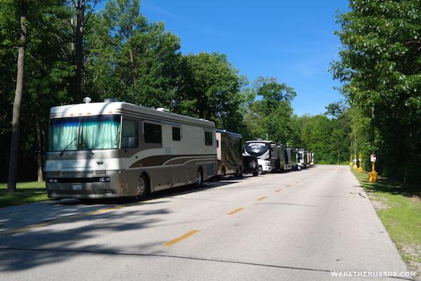 Oneida Casino Camping