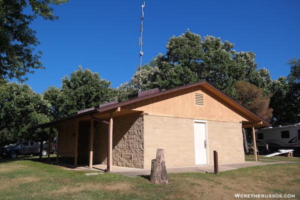 Pine Country RV Resort bathhouse