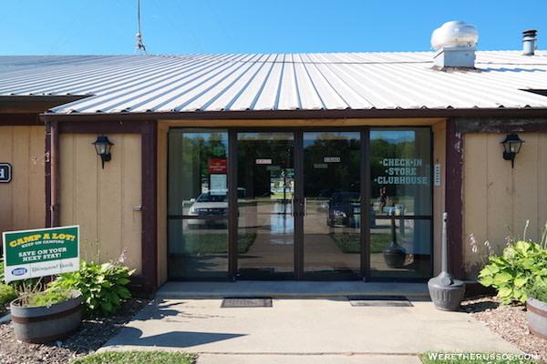 Pine Country RV Resort office