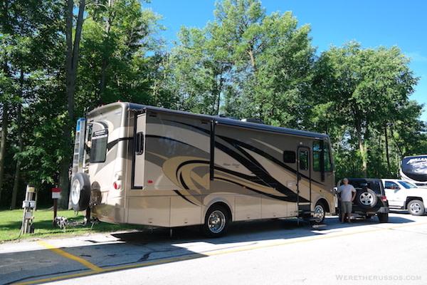 RV Camping Green Bay