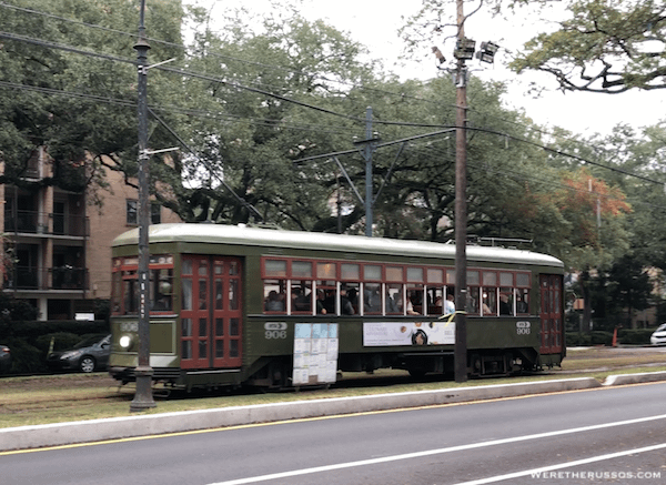 Streetcars New Orleans