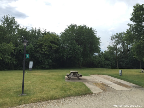 Hollywood Casino RV Park Joliet IL back in site