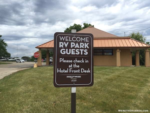 Hollywood Casino RV Park Joliet, Illinois