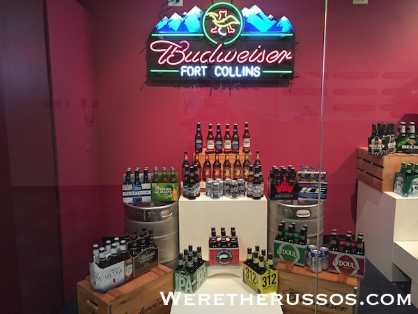 Budweiser beers made in Fort Collins