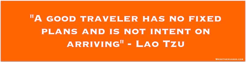 Lao Tzu travel quote