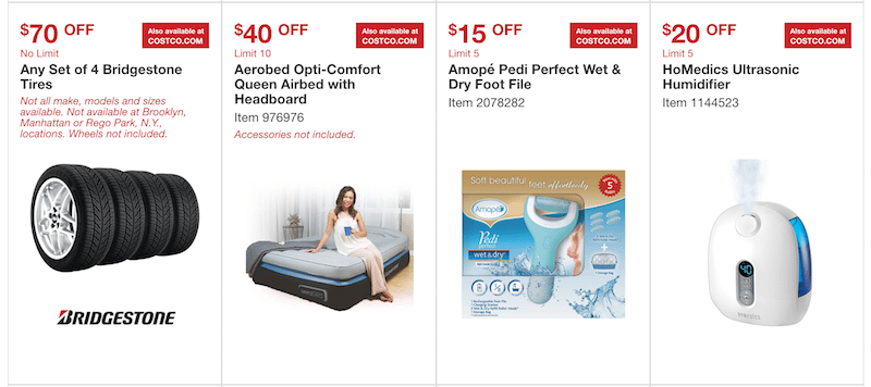 Costco Warehouse Coupons