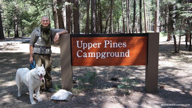 Upper Pines Campground Yosemite Valley