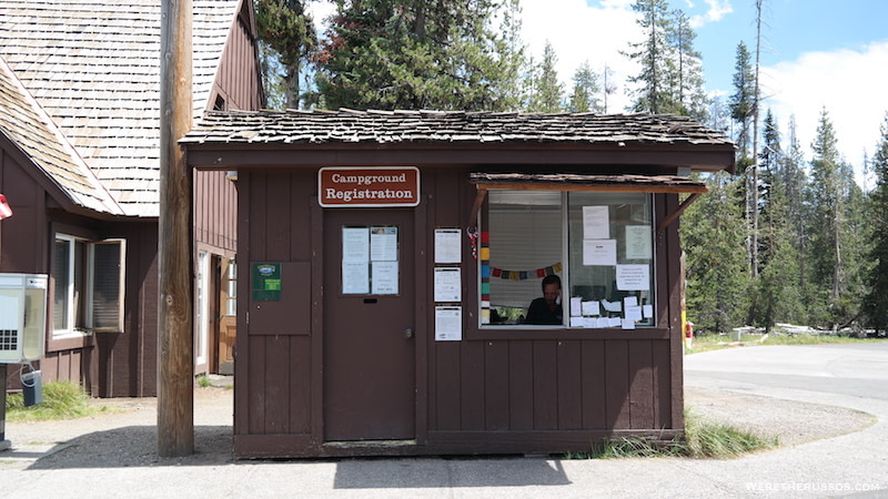 Mazama Campground Registration