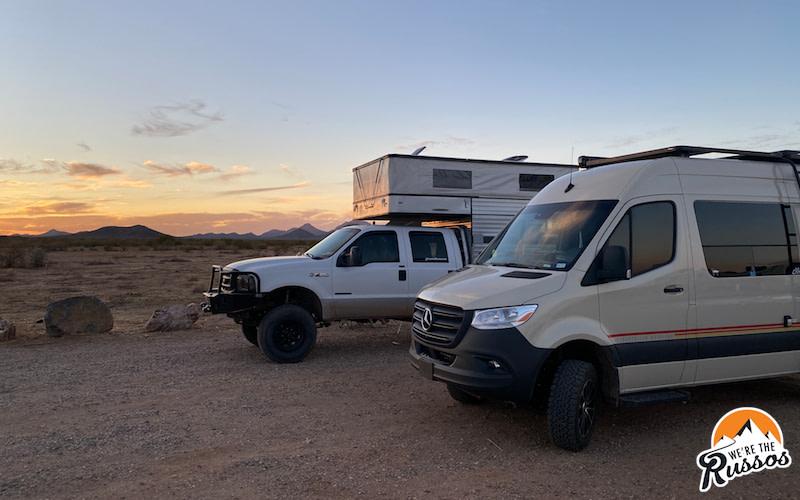 Camper Life in Tucson Arizona