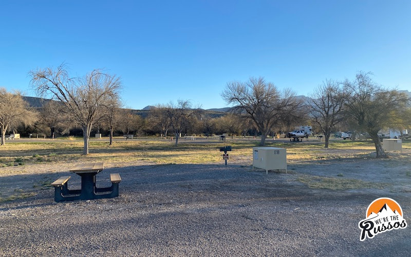 Camping in Big Bend National Park