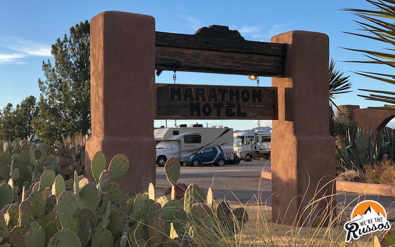 RV campgrounds Near Big Bend National Park